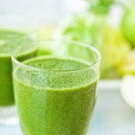 "Correct drinking of health drink ""green smoothie"", which is also suitable for skin effect in diet"