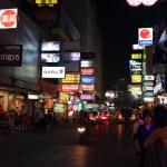 昼夜違う顔を覗かせる「シーロム」タニヤ・パッポン通りのネオン煌く歓楽街へ