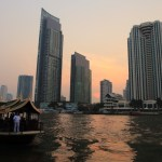 """""""鄭王廟""""去一次日落從湄南河的曼谷半島酒店意見"""