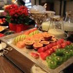 文華東方臺北私人會所樓東方俱樂部的豪華自助早餐。