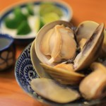 Kuwana clam dish Sunrise once every year in large clam pleasantness and including,