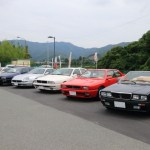 Along with the magnificent scenery around Lake Hamana 1st Maserati biturbo touring