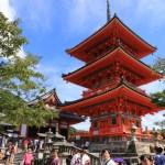 「法観寺」の八坂の塔より石畳の道を歩み「清水寺」までぶらり散策