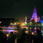 "Spread in front of Wat Arun ""Eagle nest Eagle Nest"" night bar"