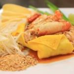 最後的晚餐中在機場素萬那普國際機場的泰國吃了!