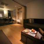 "Accommodation to Design Hotel ""amba Taipei Ximending"" spacious and comfortable loft room"
