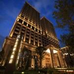 """""""臺北美麗福州大學酒店盛大 Mayfull""""酒店特別是在晚上,存在閃耀在夜空中"""