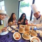 "Danshuei resort hotel ""Fullon Hotel"" ""Chef A-Ji dimsum restaurant"" Authentic Hong Kong dim sum lunch"