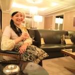 「エクシブ京都 八瀬離宮」総面積133平米と快適な広さを誇るスイートルーム