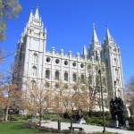 "Visit the sacred Temple in Salt Lake City ""temple square"""