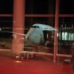 Haneda Airport international flights departing to Bangkok in Thailand airlines!