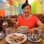 カトマンドゥのタメル地区にあるチベット料理「ギリンチェ」でランチ
