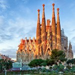 2017 the birthday trip around the architecture of Gaudi in Barcelona, Spain