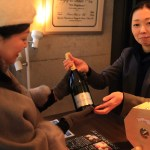 "Lottery held during the ""petticoat"" champagne! An extensive wine list and party design gifts"