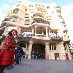 Gaudí! Housing the image of snow of the Mediterranean and Catalan La Pedrera