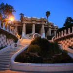 """Park Güell"" Gaudí! Dream show House and English-style garden housing"