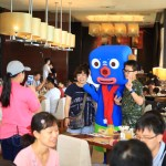 "Character and play with ""Silk sprays Ilan"" all dining breakfast!"