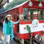 "Journey to unexplored by COG train ""line and the Southern Alps so."" everywhere in Japan to enjoy!"