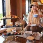 """The Ritz-Carlton of Okinawa"" Nago Bay, overlooking exquisite afternoon tea"