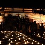 在龍雲寺新年快樂! 光明的燈籠貝爾迎接新年與生命!