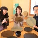 続々と御来場!我が家サロンにて開催する富山の陶芸家「釋永岳 陶芸展」