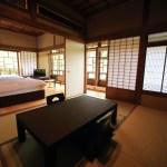 「鎌倉古今」和と洋が共存する鎌倉古今のメゾネットタイプのスイートルーム