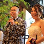 "My friend's restaurant wedding at the reborn ceremony hall of ""Cattle Saison Hamamatsu"""