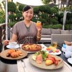 "Elegant Riverside Breakfast in a wide variety of buffets at ""Lebas-Riya Bangkok"""