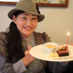 "I rented Fujieda's French restaurant with a friend to celebrate my ""Lagap"" birthday."