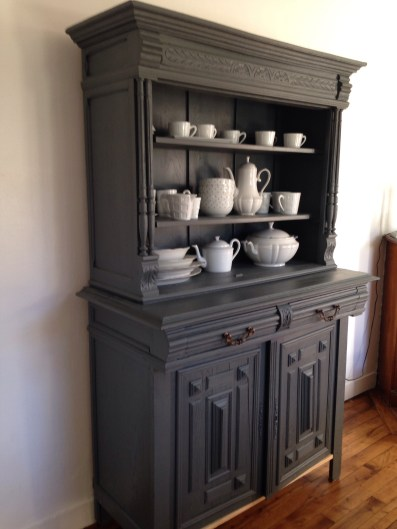 diy relooker un buffet henri ii la deco de paul lola. Black Bedroom Furniture Sets. Home Design Ideas