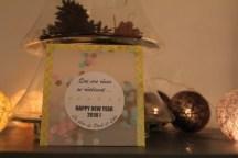 Bonne année confettis