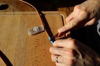 Mise en place de l'interrupteur DIY