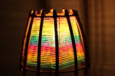 scoubidou-diy-lampe