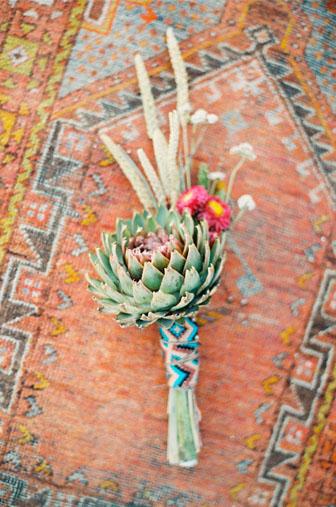 mexicain décors , bouquet tapis motif