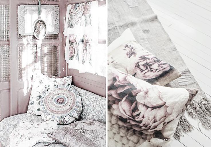 intérieur décors boheme romantique