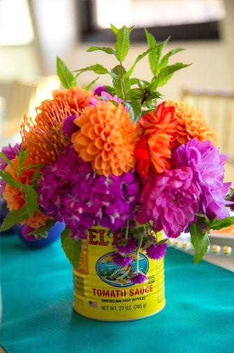 mexicain décors , bouquet table mexicain
