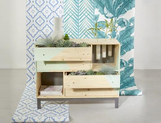 couverture meuble végétal