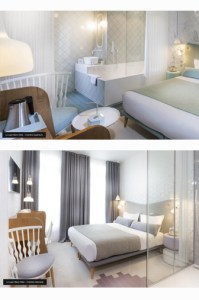 hotel lapin blanc chambre