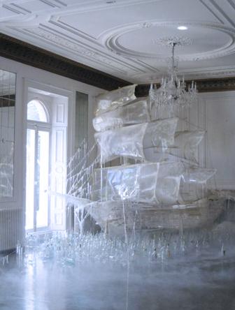 bateau de crystal Tim Walker