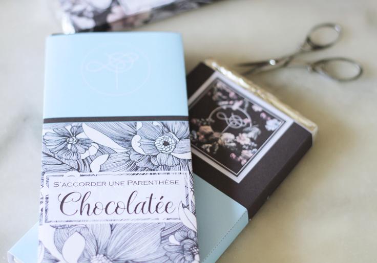 tablette de chocolat à imprimer