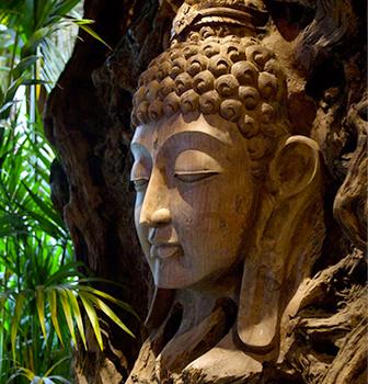 statue bouddha Le clos des vignes