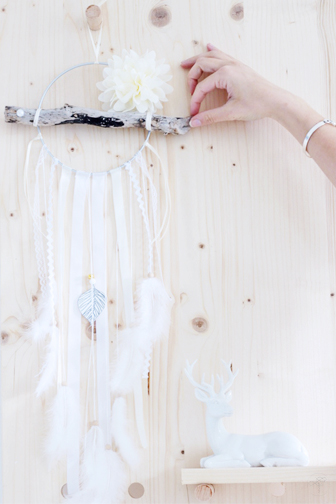 dreamcatcher box mai La délicate parenthèse blog DIY