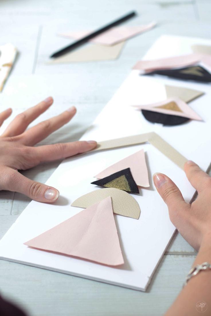 DIY tableaux géometriques