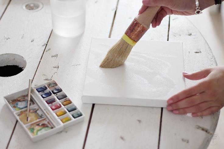 peinture details cabinet curiosité DIY