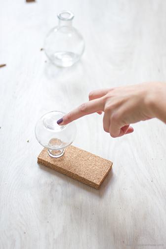 DIY la Délicate Parenthèse creation DIY vases suspendus