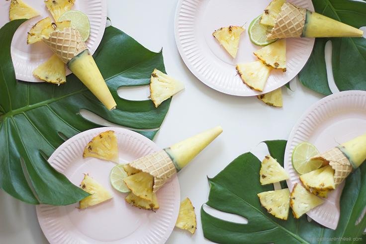 La délicate parenthèse DIY free printable cone de glace fruité