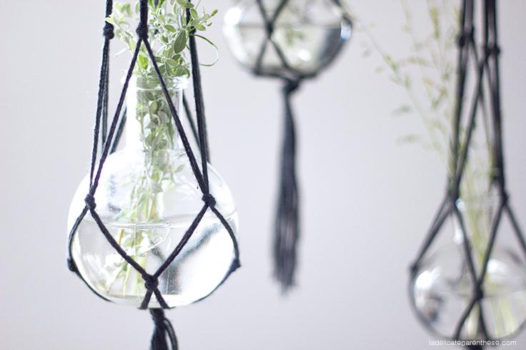 La Délicate Parenthèse création DIY home décors macramé