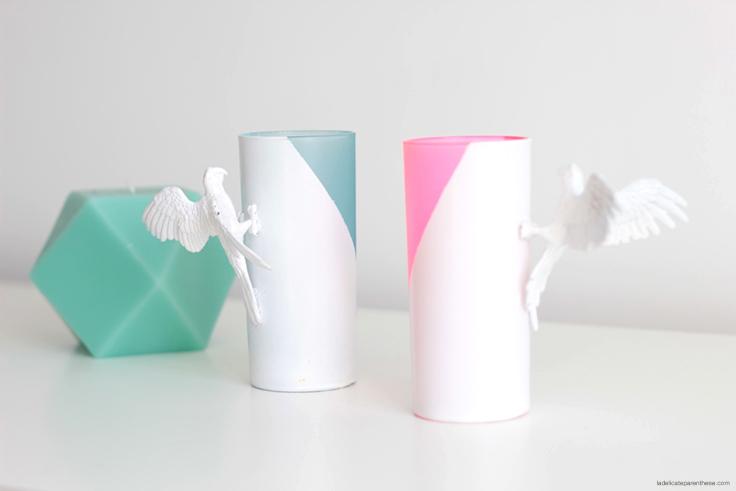 verres modes et travaux création DIY la delicate parenthese