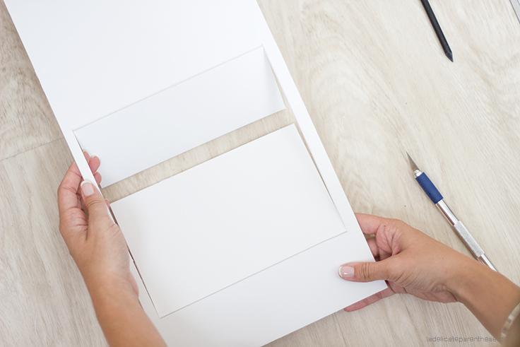 La Délicate Parenthèse création DIY blog déco miroir instagram frame