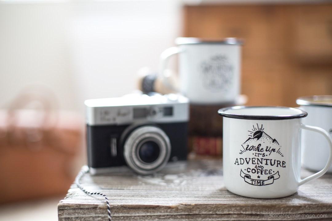 DIY blog déco inspiration mug à personnaliser dans un esprit voyageur